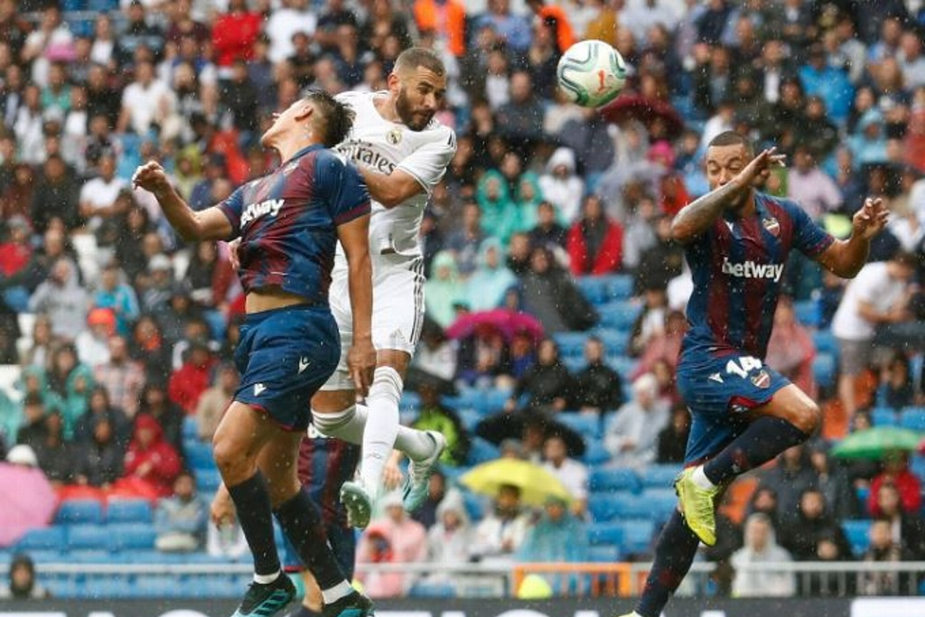 ¡Real Madrid vence al Levante!