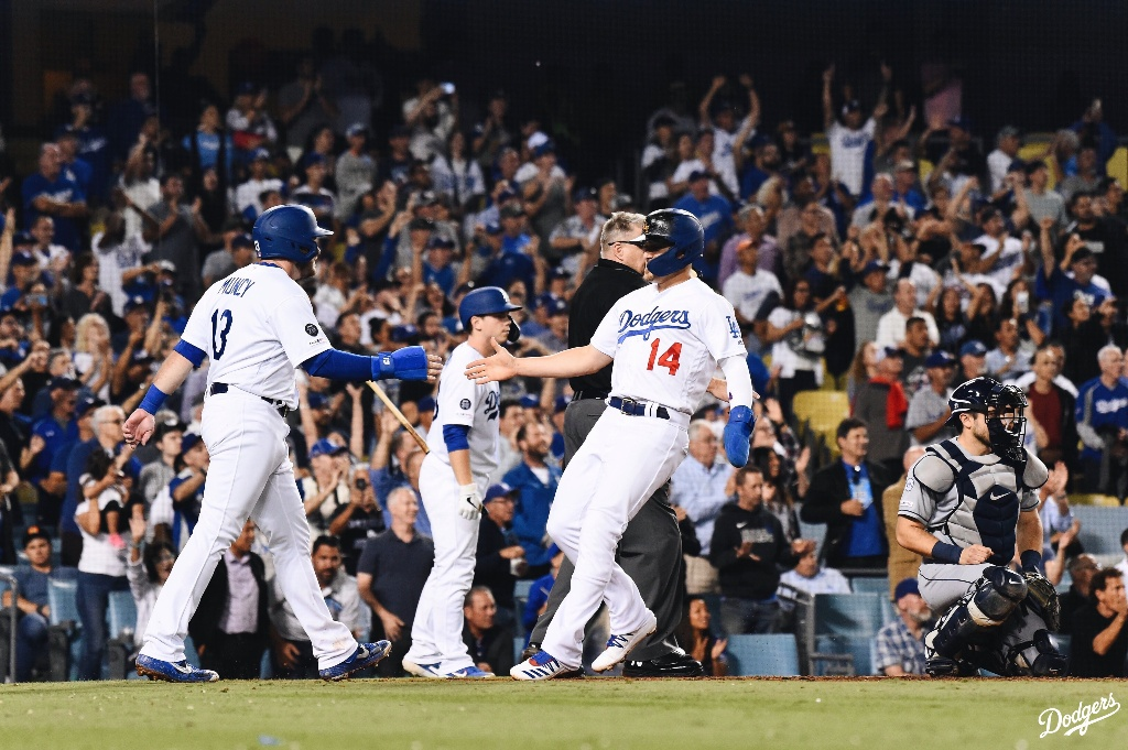 MLB: Dodgers superan a los Rays