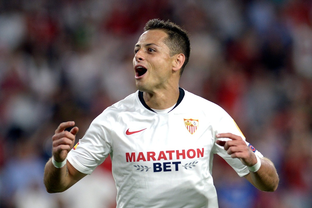 'Chicharito' da el triunfo al Sevilla en Europa League (VIDEO)