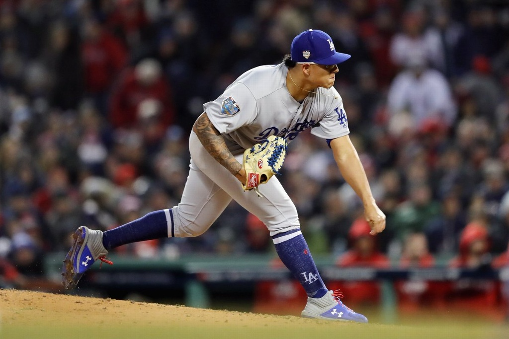Julio Urías confía en que Dodgers le gane a Washington