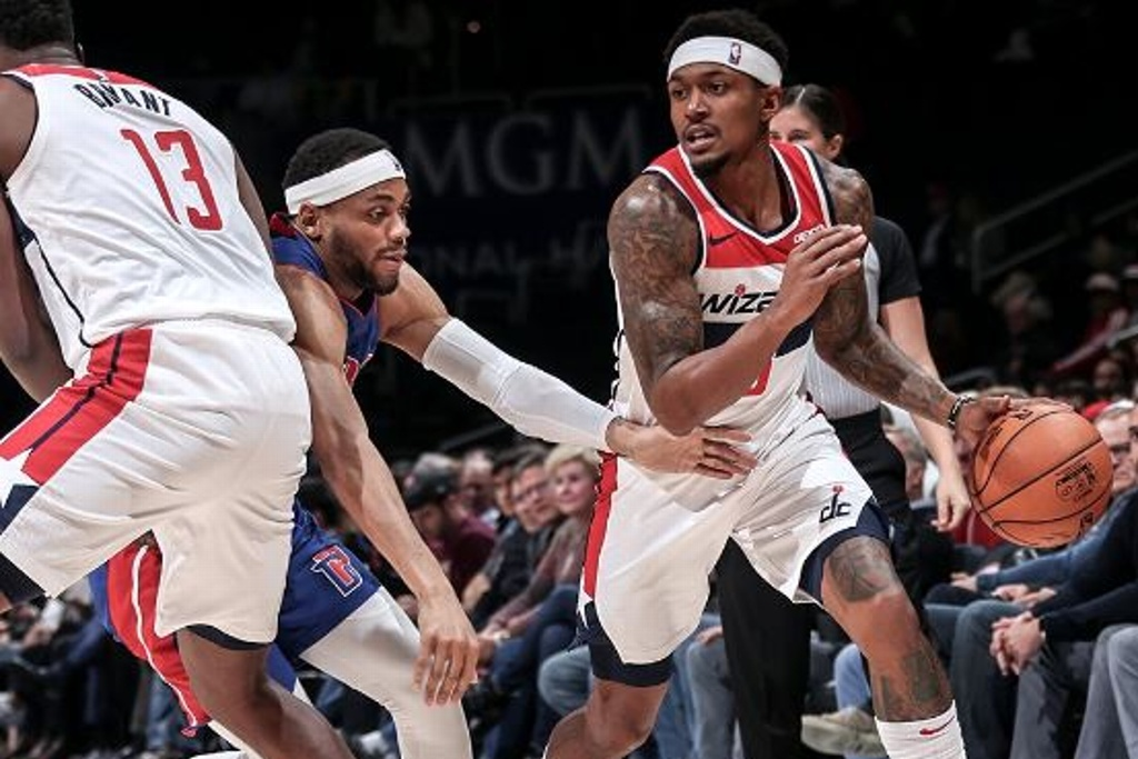 NBA: Wizards superan a unos diezmados Pistones