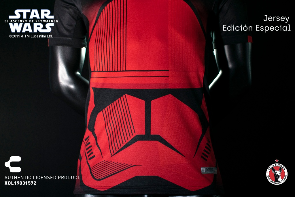¡Espectacular! Xolos presenta uniformes inspirados en Star Wars (VIDEO y FOTOS)