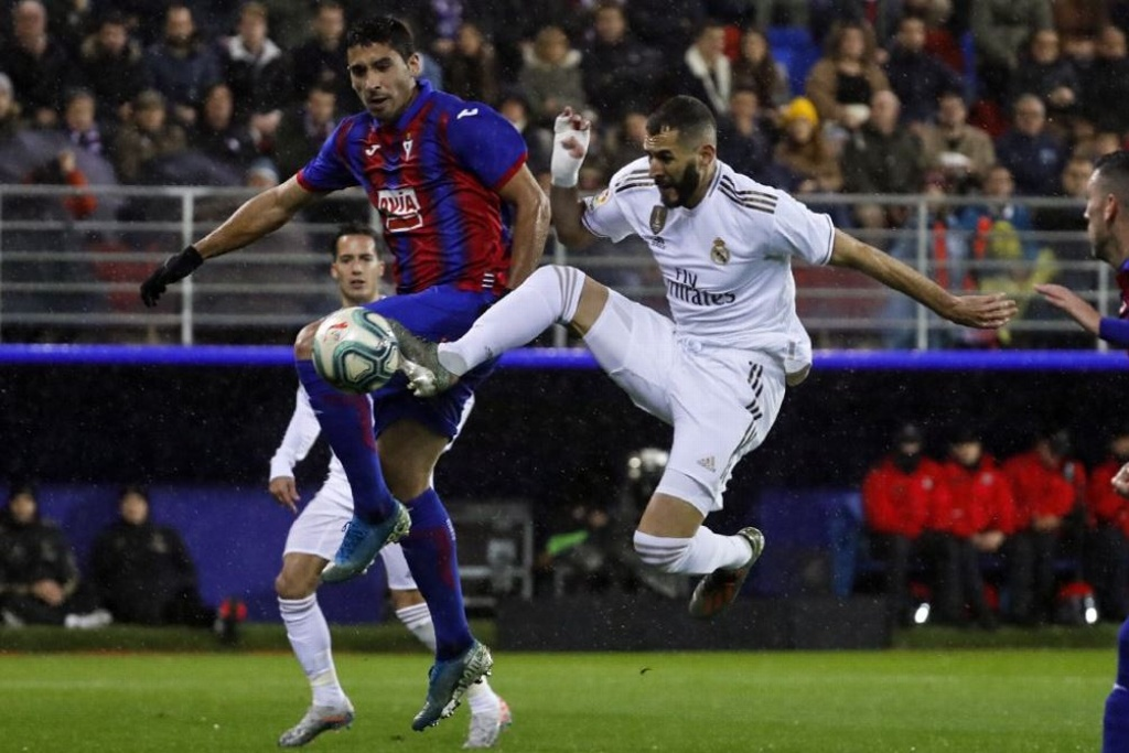 ¡Real Madrid golea al Eibar!