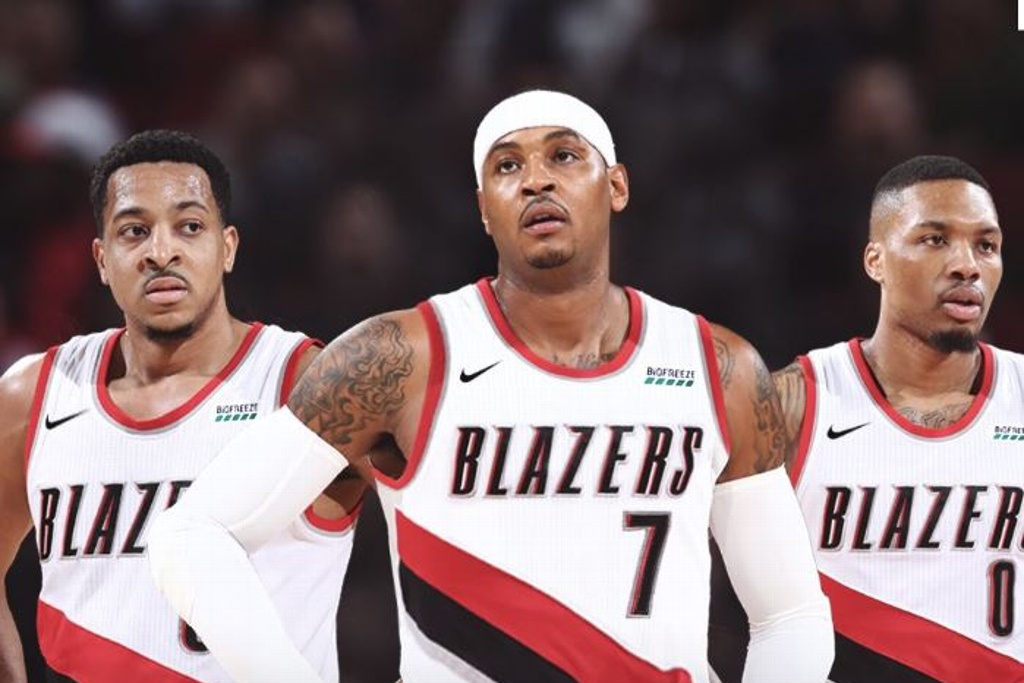NBA: Carmelo Anthony regresa con los Blazers