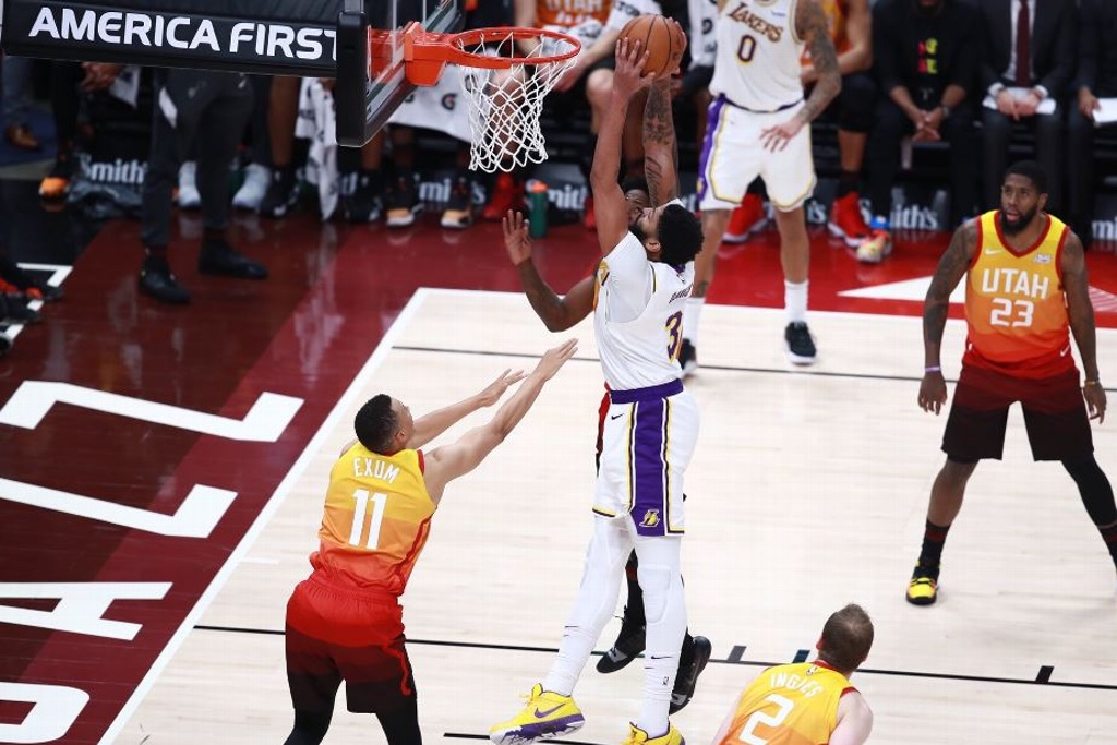 NBA: Lakers superan al Jazz