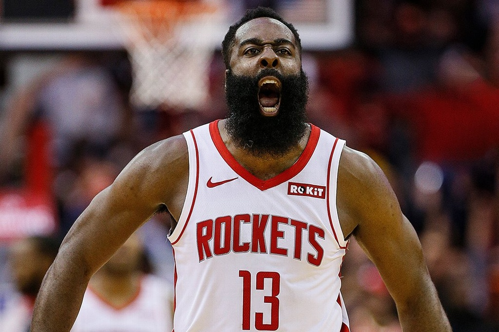 NBA: James Harden anota 55 puntos en victoria de Rockets