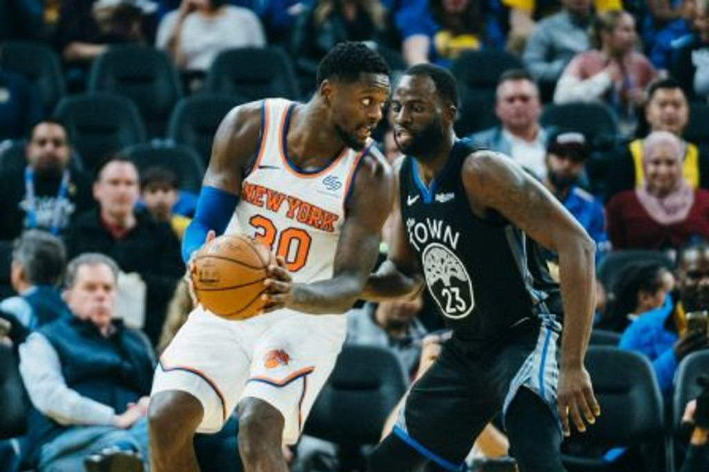 NBA: Knicks respiran y vencen a los Warriors