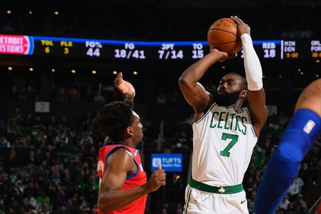 NBA: Celtics superan a los Pistons