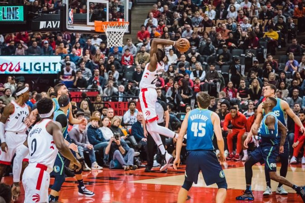 NBA: ¡Mavericks pierden ante los Raptors!
