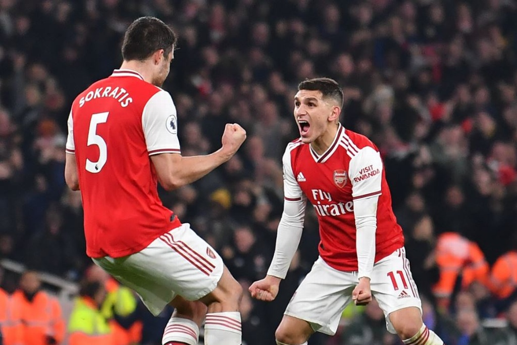 ¡Arsenal vence al Manchester United!