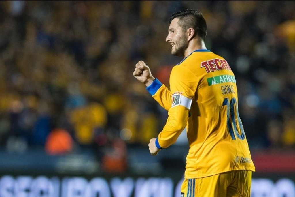 André Pierre Gignac es incluido en 11 ideal del Marsella