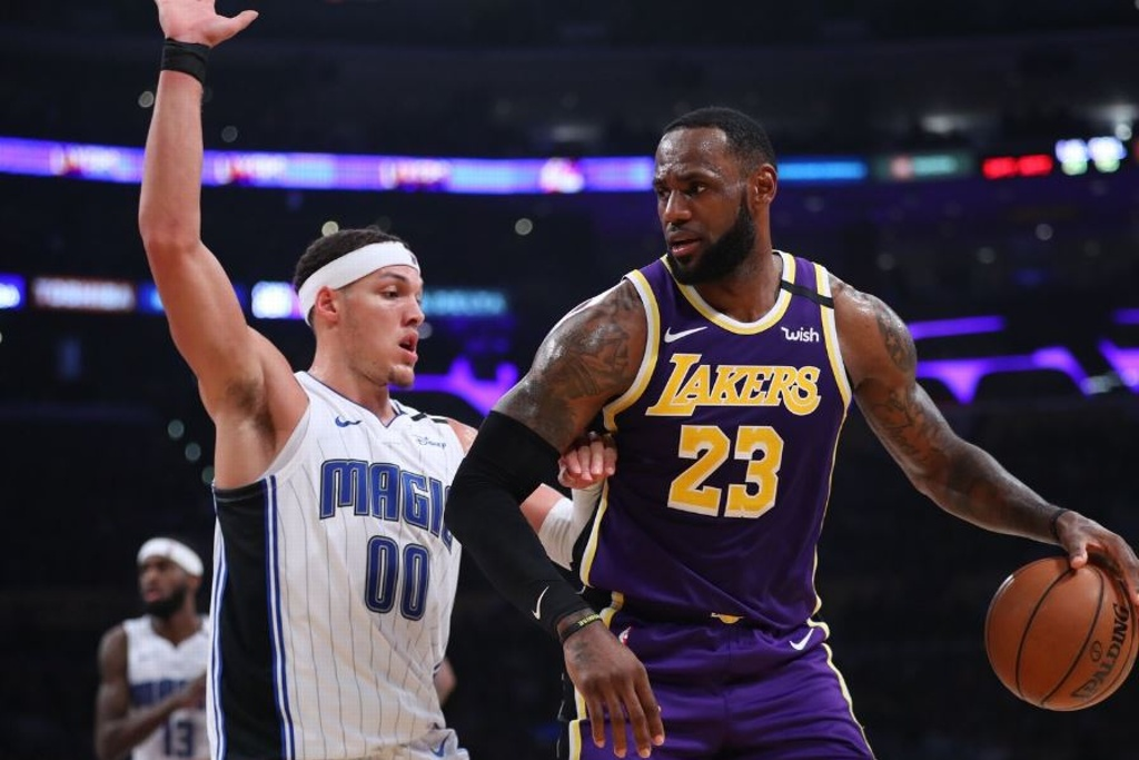 NBA: ¡Magic frena racha ganadora de los Lakers!