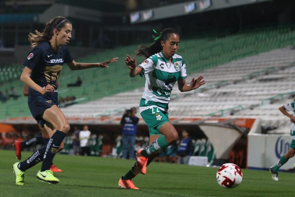 Liga MX Femenil: Santos cae como local ante Pumas
