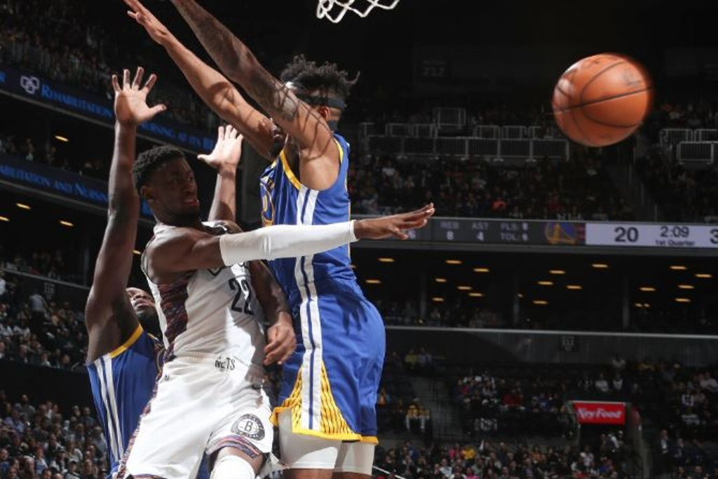 NBA: Nets aplastan a los Warriors