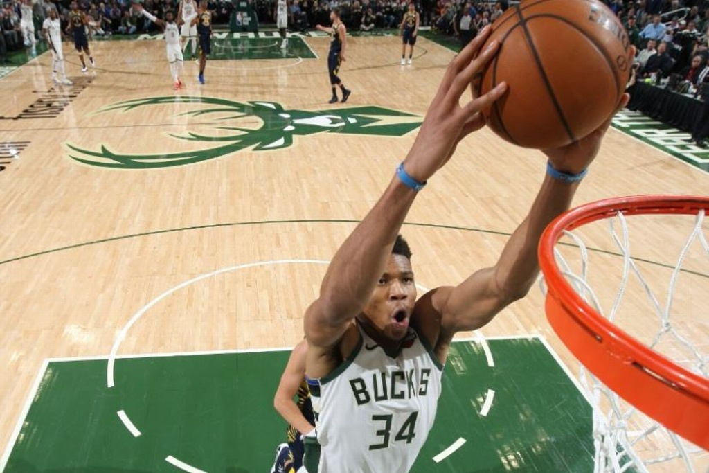 NBA: Bucks galopan y vencen a los Pacers