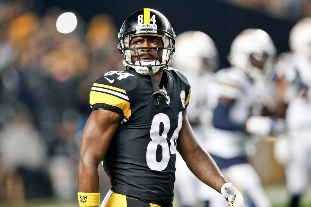 NFL: Antonio Brown no llegará a Tampa Bay