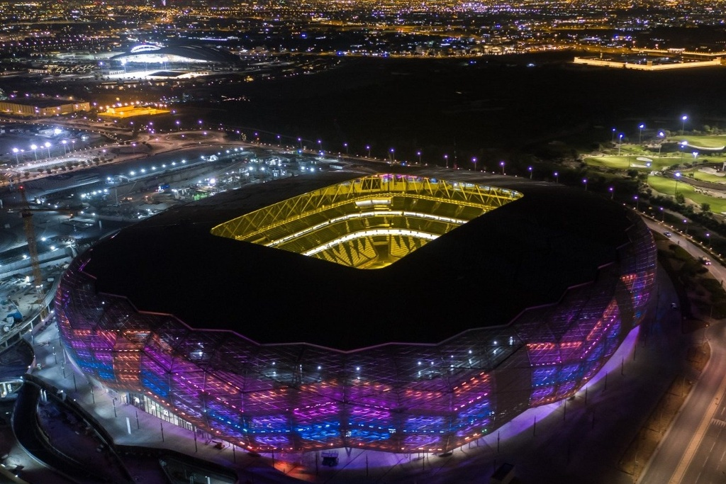 ¡Espectacular! Finalizan tercer estadio para el Mundial de Qatar 2020 (VIDEO)