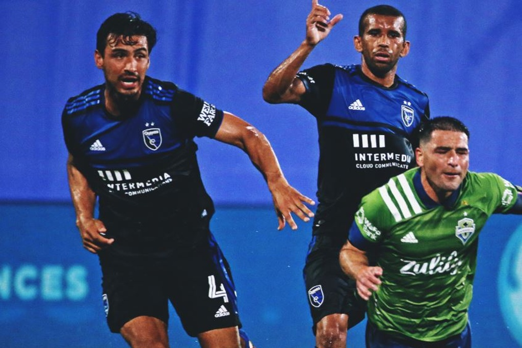 San José Earthquakes y Seattle empatan en la MLS is Back