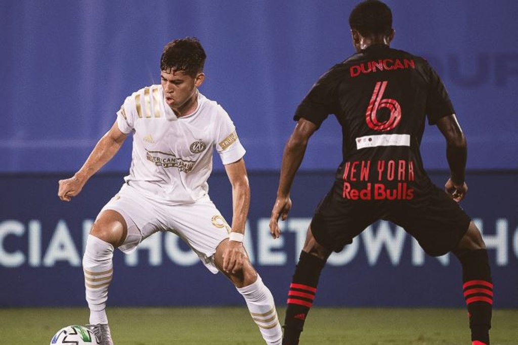 Atlanta cae ante los Red Bulls de Nueva York en la MLS is Back