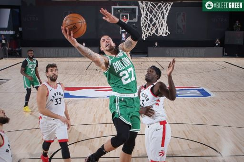 NBA: Boston le pone un freno a los Raptors