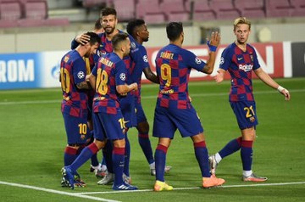 Barcelona avanza a Cuartos de Final de Champions League