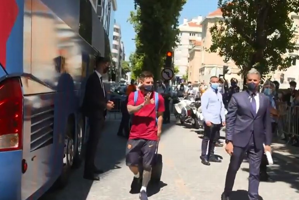 Barcelona listo para la Champions (VIDEO)