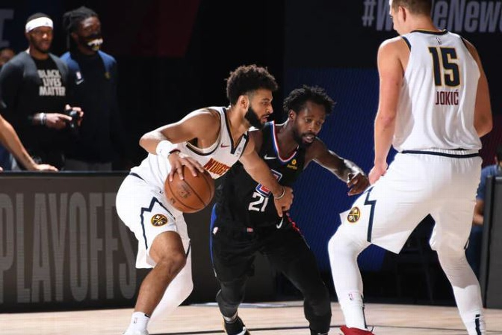 NBA: Nuggets empatan serie ante los Clippers