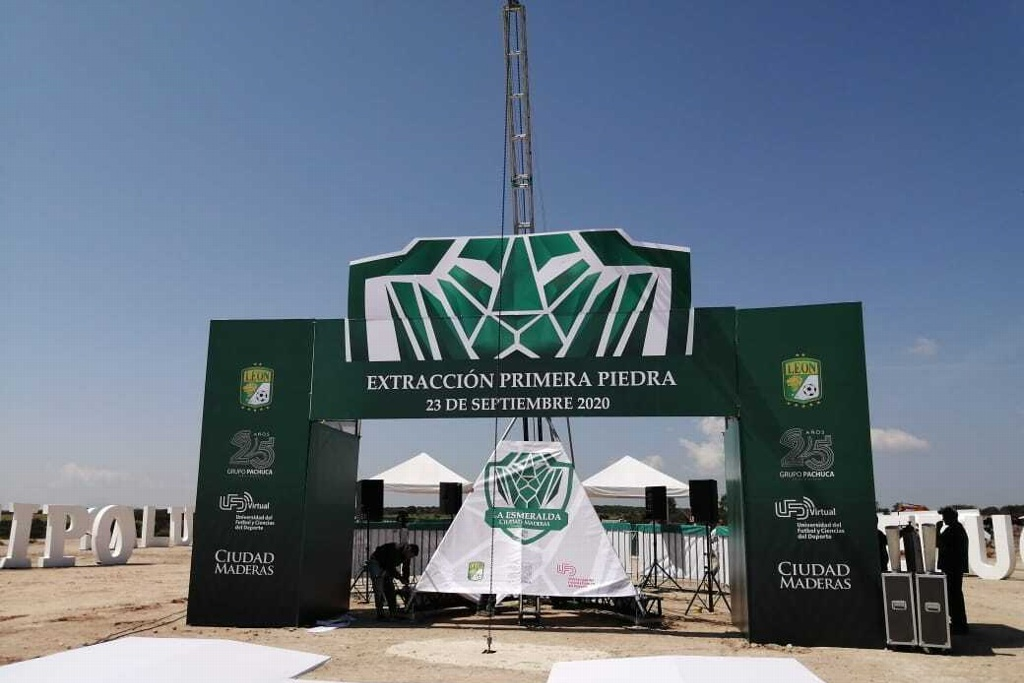 Presentan 'La Esmeralda', la Casa Club y Universidad de Futbol de León (VIDEO)