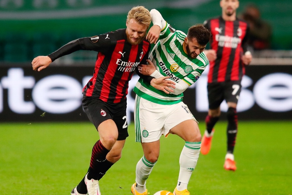Europa League: Milan supera a Celtic