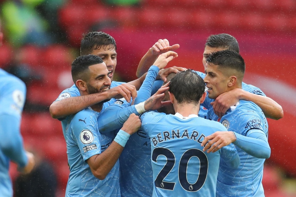 Manchester City gana en su visita al Sheffield United