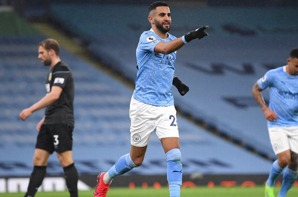 Manchester City aplasta al Burnley