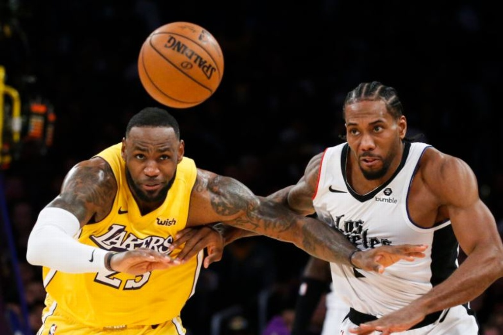 NBA: Lakers vs Clippers para arrancar pretemporada