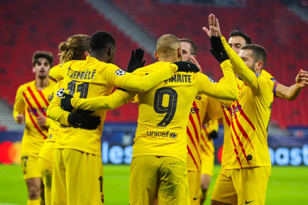 Barcelona con paso perfecto en Champions League