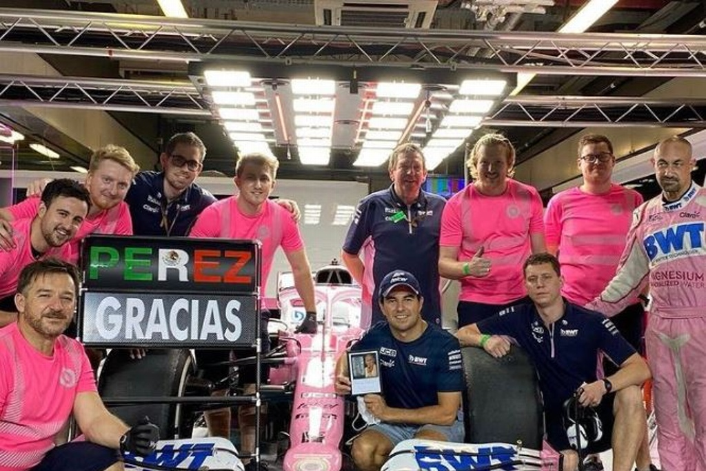 'Checo' Pérez está en paz con Racing Point