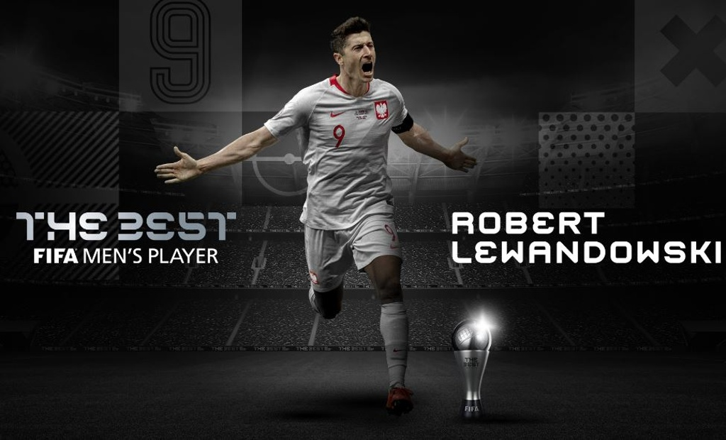 ¡Robert Lewandowski gana el The Best!