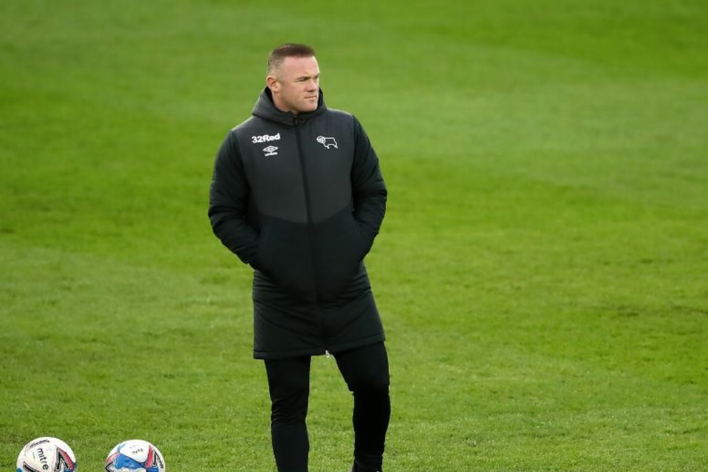Rooney es entrenador del Derby County