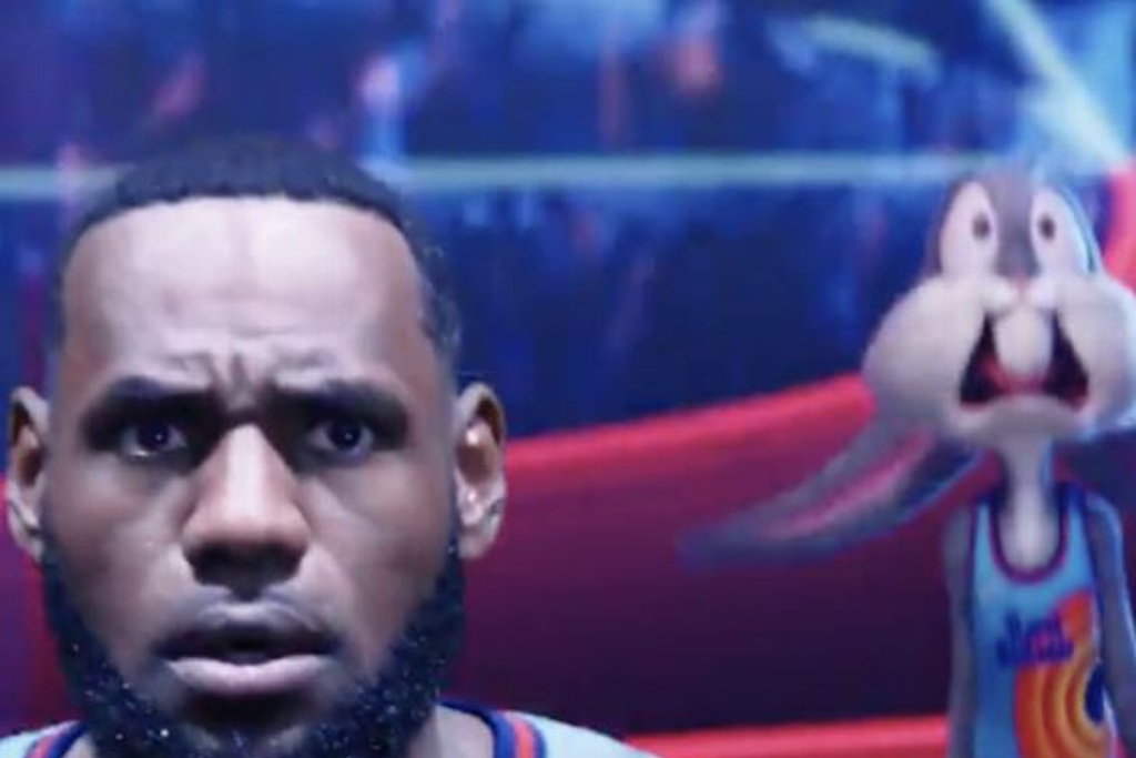 LeBron y Bugs Bunny juntos en Space Jam (VIDEO)