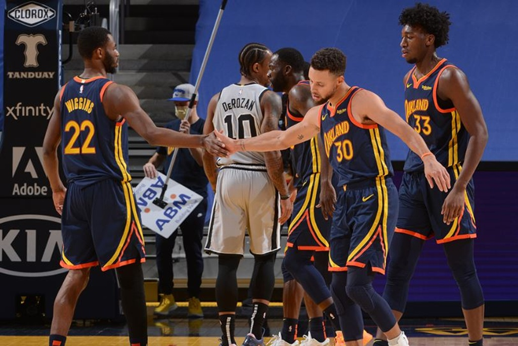NBA: Warriors mantienen racha positiva