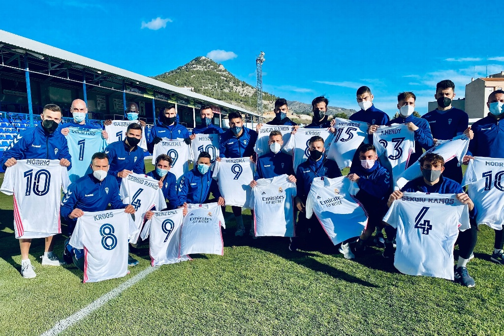 Alcoyano recibe regalo del Real Madrid