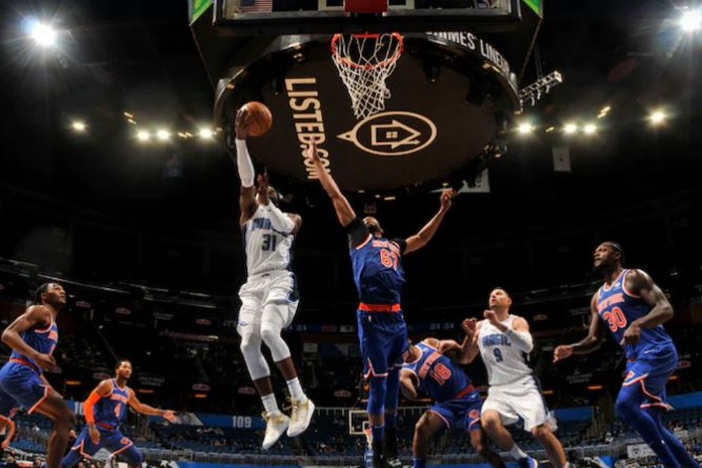 NBA: Magic le corta racha a los Knicks