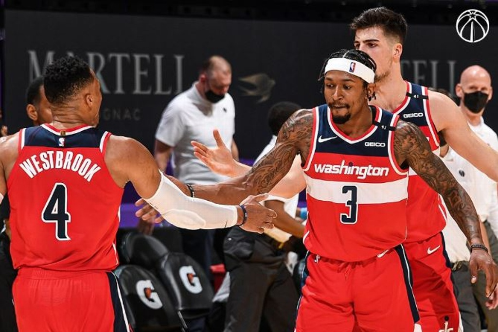 NBA: Wizards sorprenden y vencen a los Lakers
