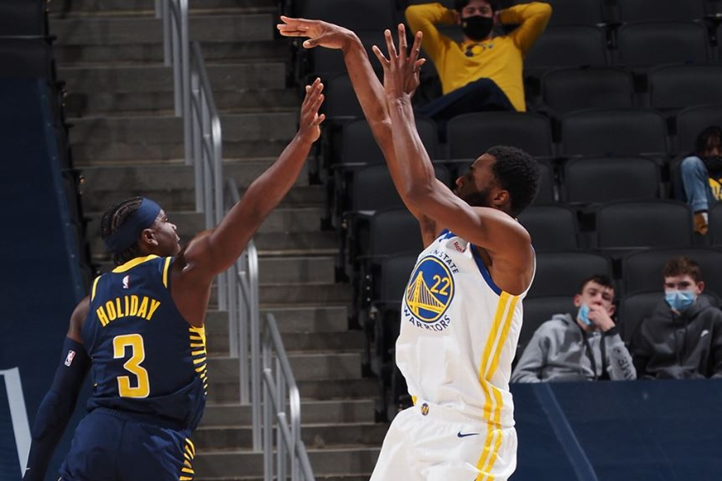 NBA: Warriors dominan a los Pacers