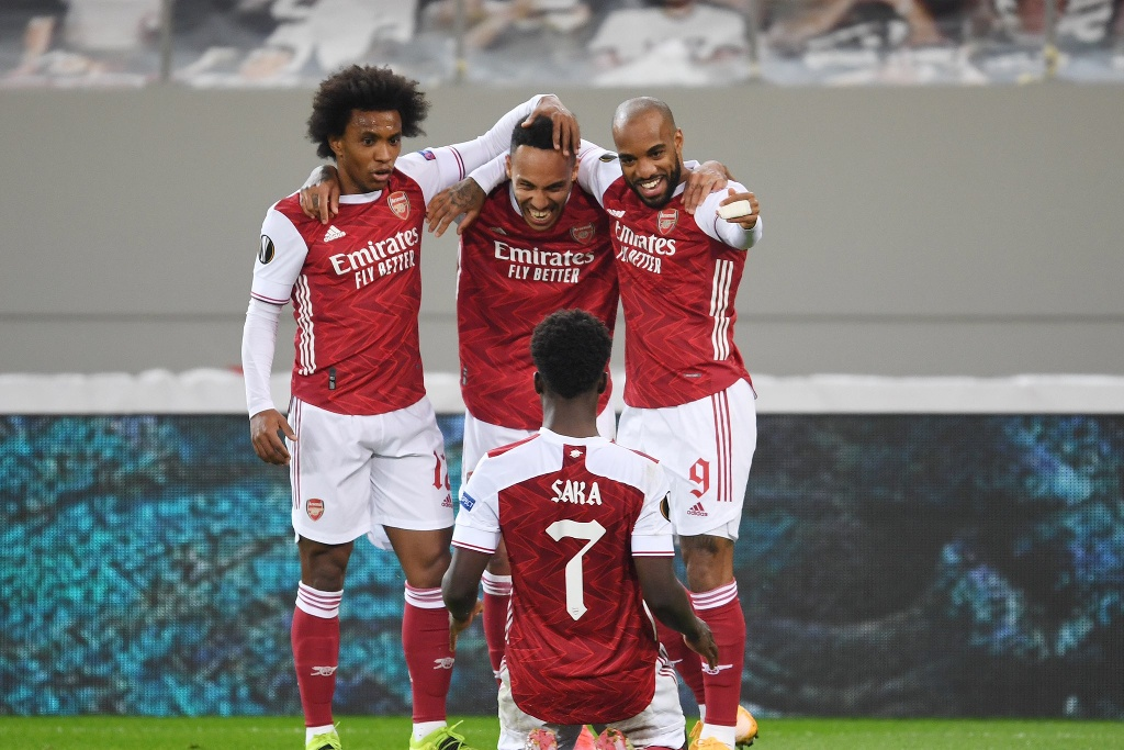 Arsenal vive en la Europa League