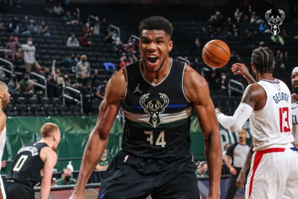 NBA: Bucks remontan para vencer a los Clippers