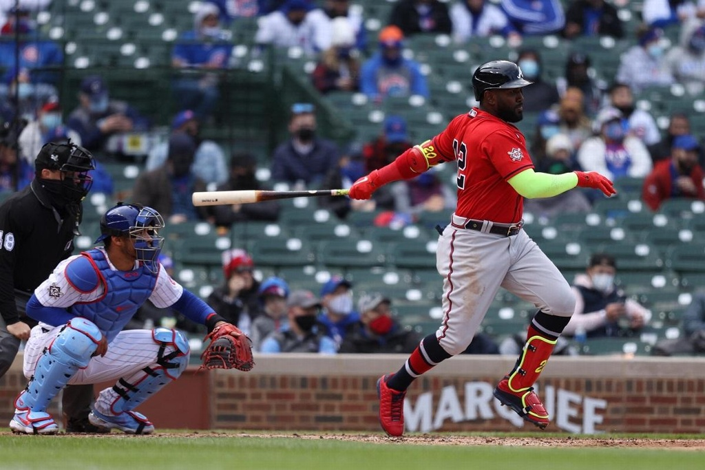 MLB: Atlanta Braves se impone a los Chicago Cubs