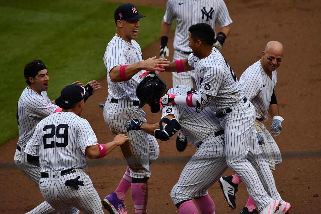 MLB: Yankees gana en el último suspiro a Nationals